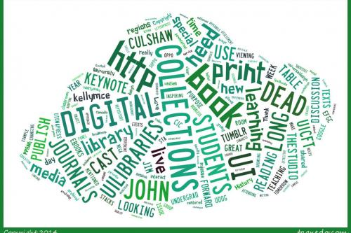 4CAST 2014 word cloud